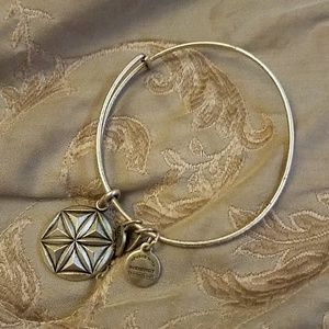 Alex and ani aphrodite flower bracelet